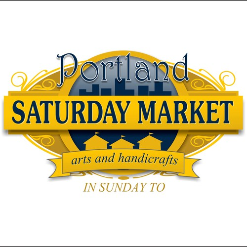 Portland Saturday Market  needs a new logo