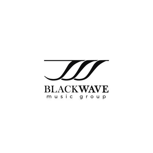 BlackWave music logo