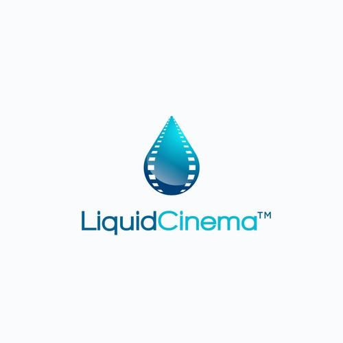 Logo concept for Liquid Cinema