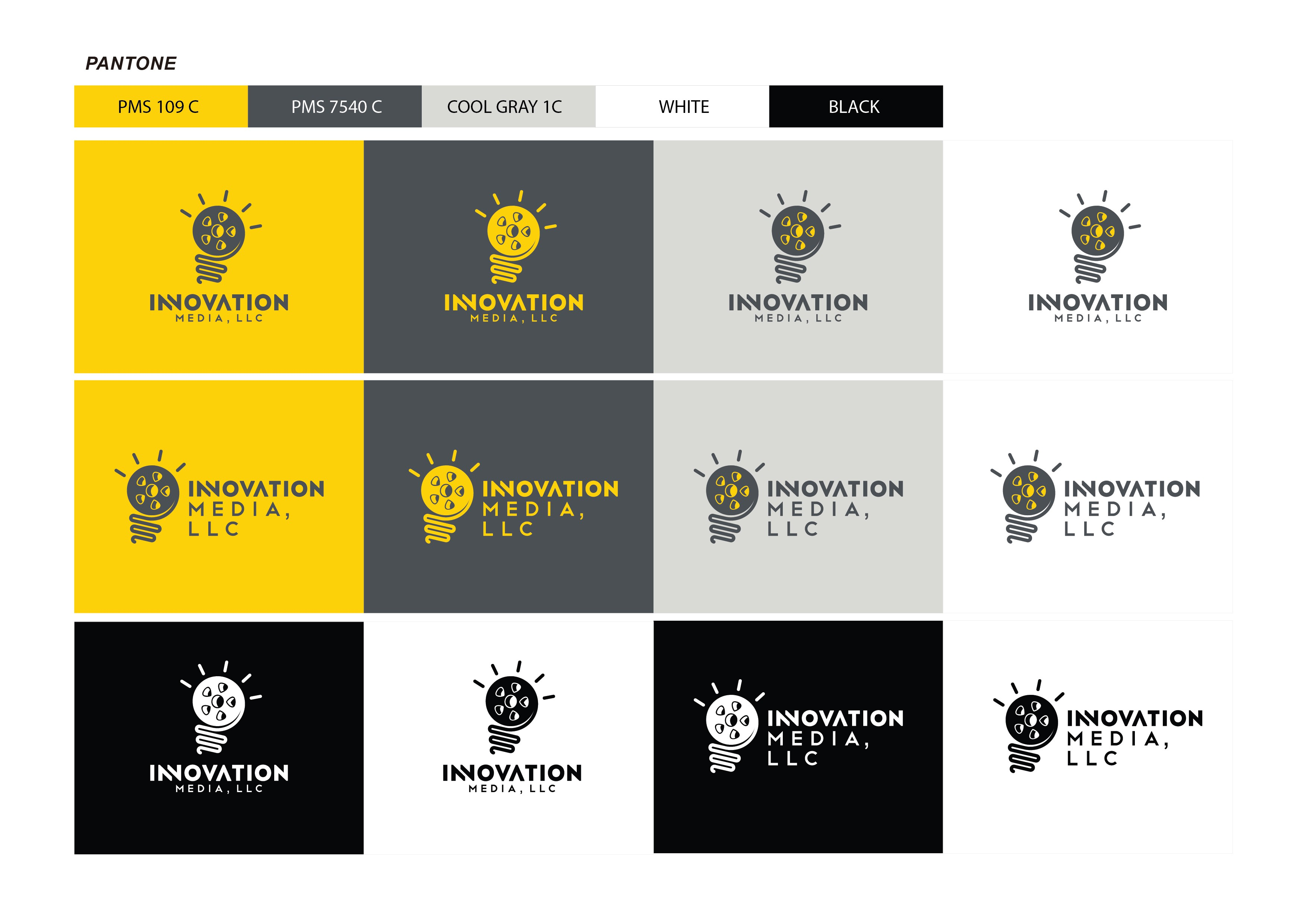 Looking for Clean, Modern, Bold, Iconic logo design for Innovation Media Group