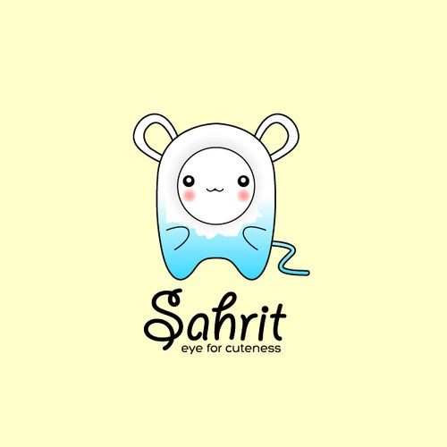 Create the next logo for Sahrit - eye for cuteness!