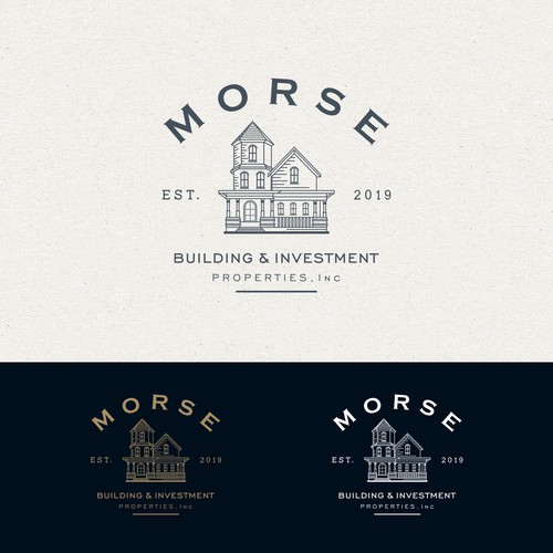Vintage Logo for Home Builder