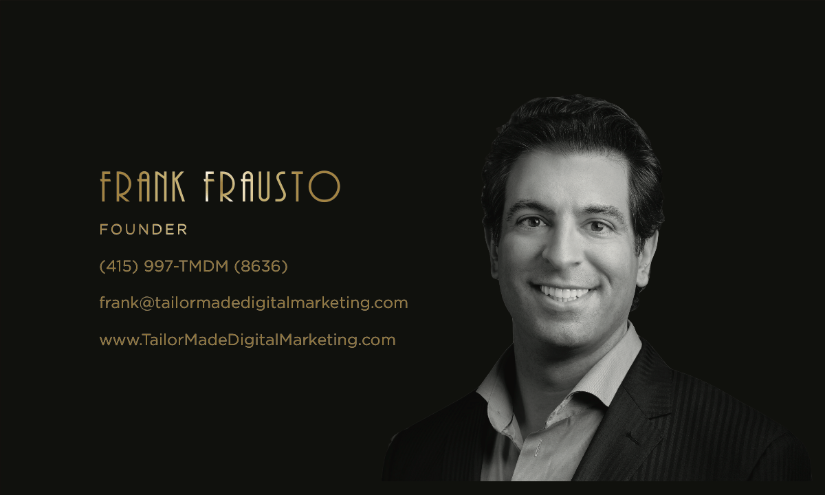 Design a Luxurious business card for a Digital Marketing Agency