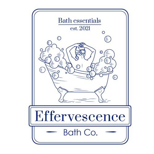 Logo for bath essentials store