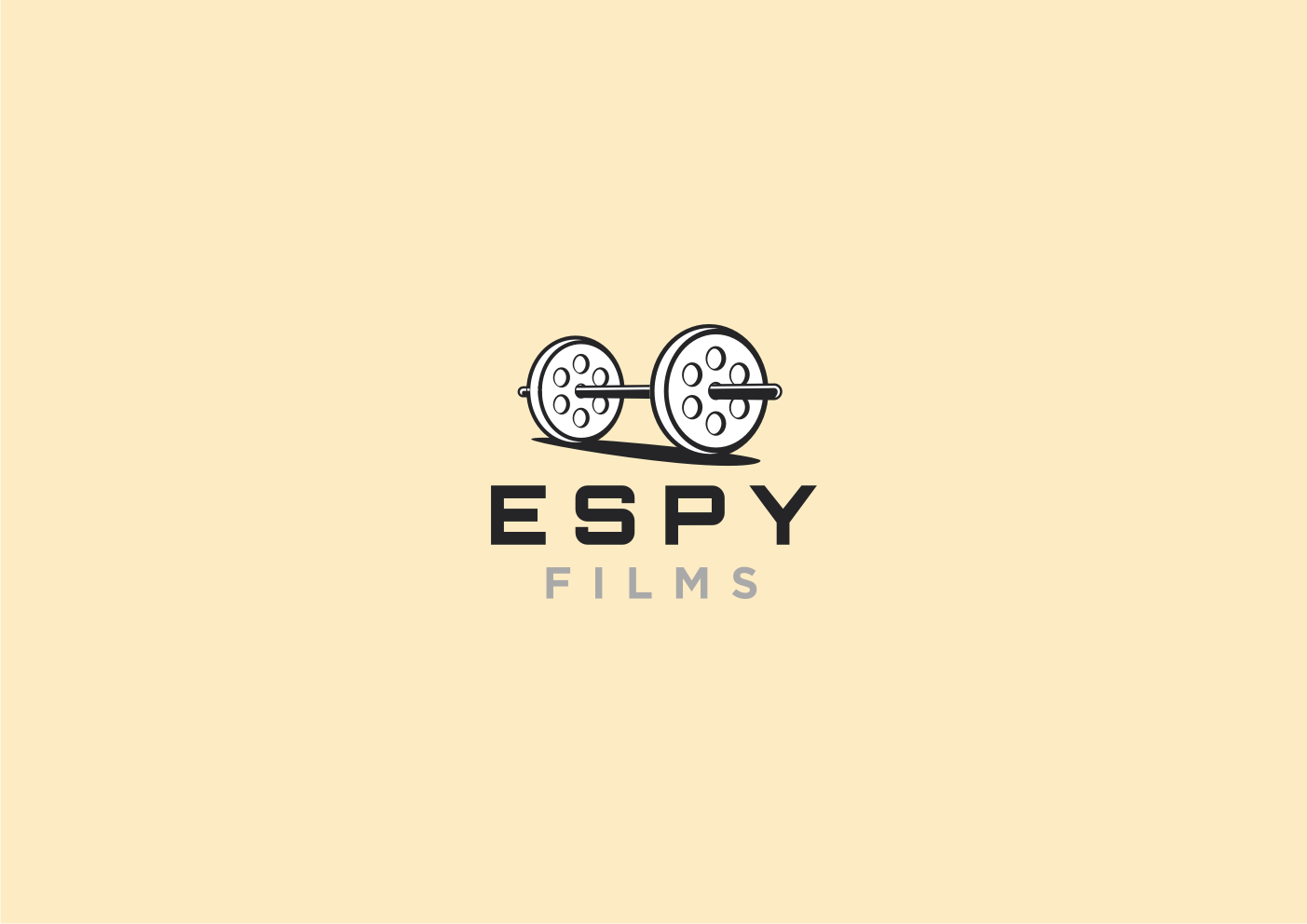 Design a primary logo for a video production business (ESPY FILMS)
