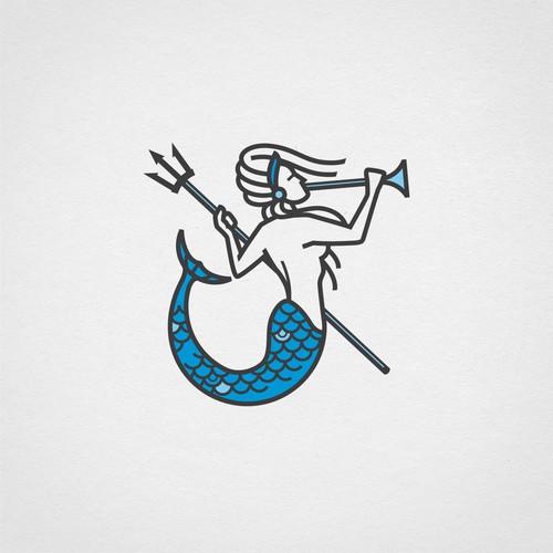 illustrative logo for marketing agency