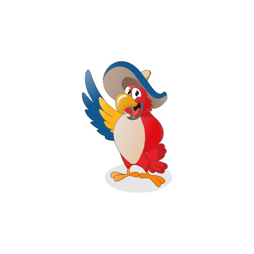In contest Create the brand of this Funny Partying Parrot!!