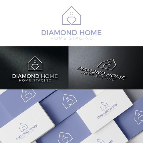 Minimal Real Estate Logo Concept