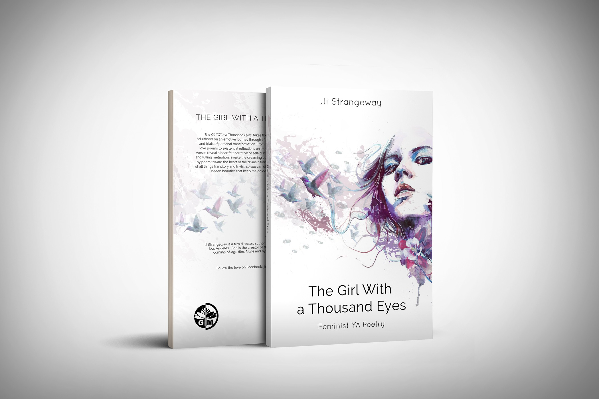 Design a savvy modern POETRY BOOK COVER for urban, YA female readers