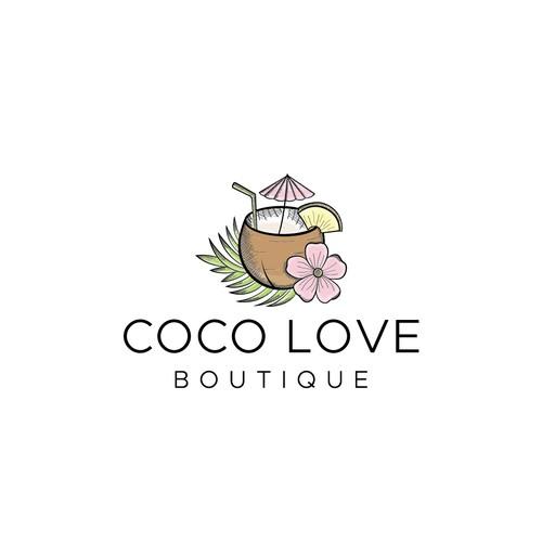 Logo for fashion boutique.
