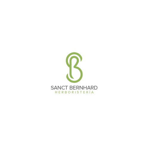 logo for herboristeria Sanct Brrnhard