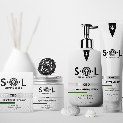 S.O.L Packaging and Label design