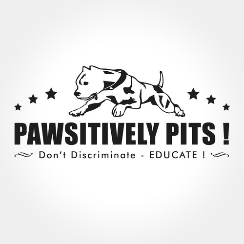 Logo for Pawsiively Pits!