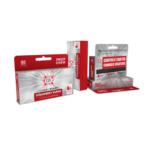 C4 Canna Burst Packaging Design