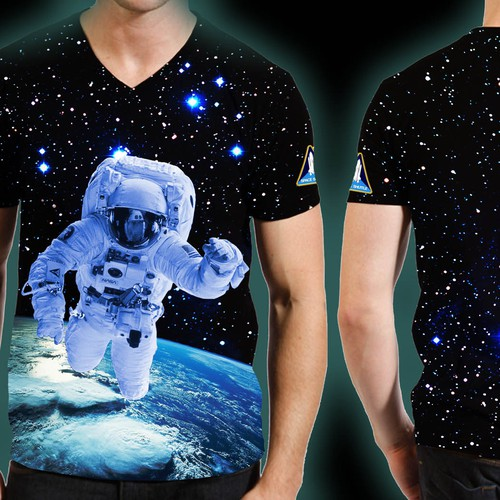 The Space Store needs a new t-shirt design