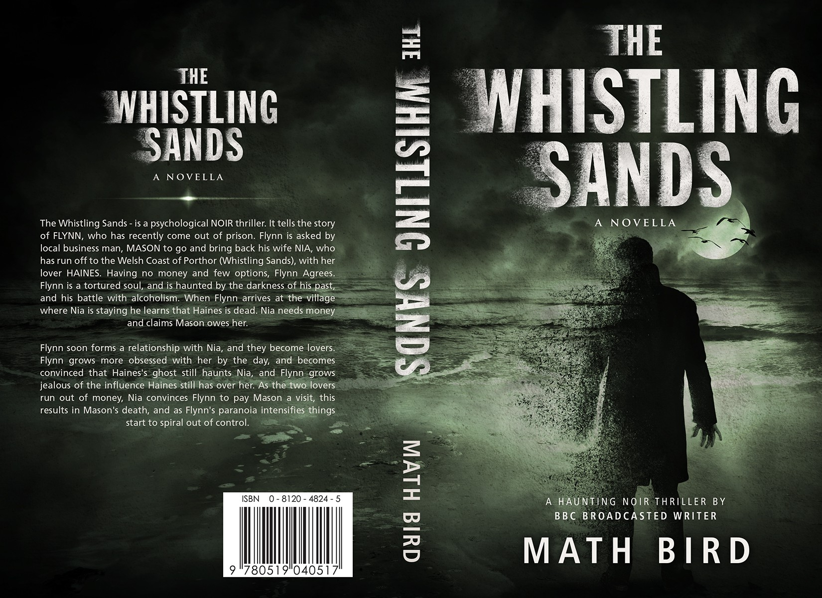 Book Cover (ebook & Print) The Whistling Sands