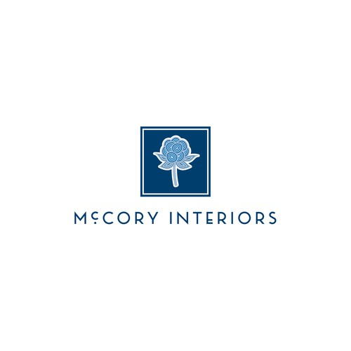 Logo for interior design firm
