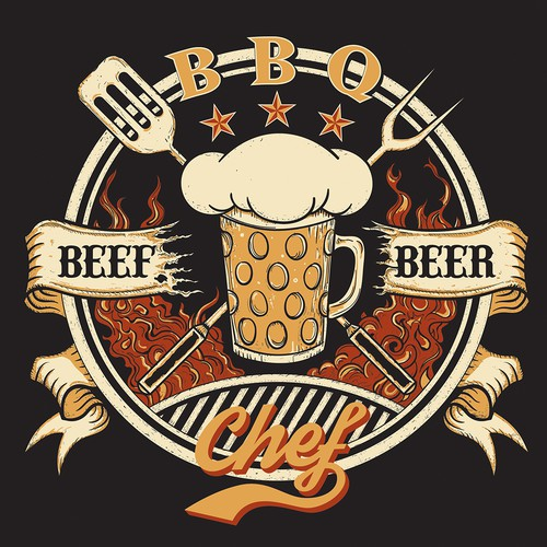 BBQ beef and beer