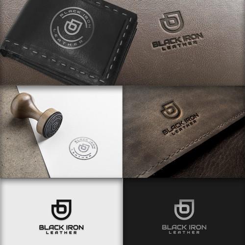 Black Iron Leather