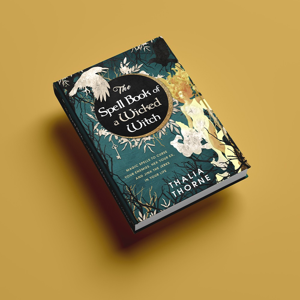 """""""The Spell Book of a Wicked Witch"""" - Hardcover Design"""