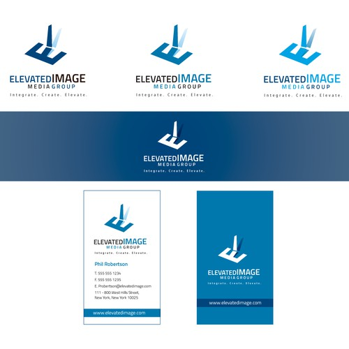 Create a creative yet meaningful logo design for Elevated Image Media Group!