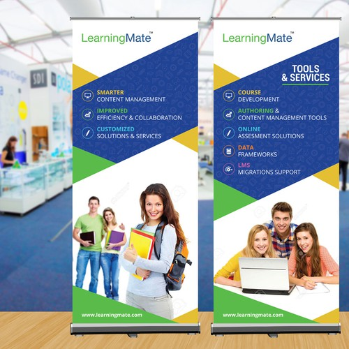 Standee Design for Education.