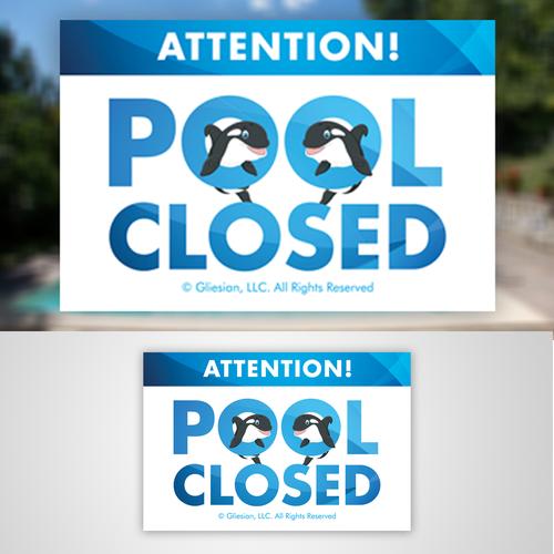 Vibrant modern Pool Closed