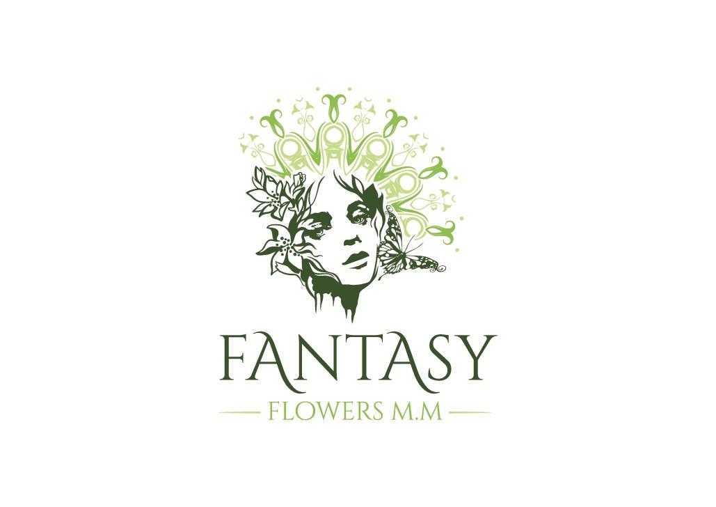 Erstelle ein Logo für Fantasy Flowers Shop