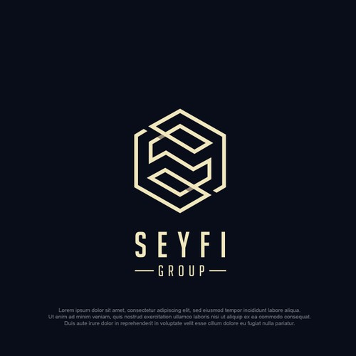 SEYFI group logo design 2