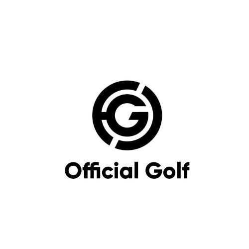 Logo for a Golf company