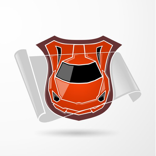Logo for a car protection film company
