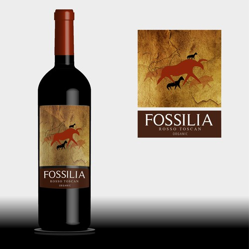 Fossilia wine of Toscana