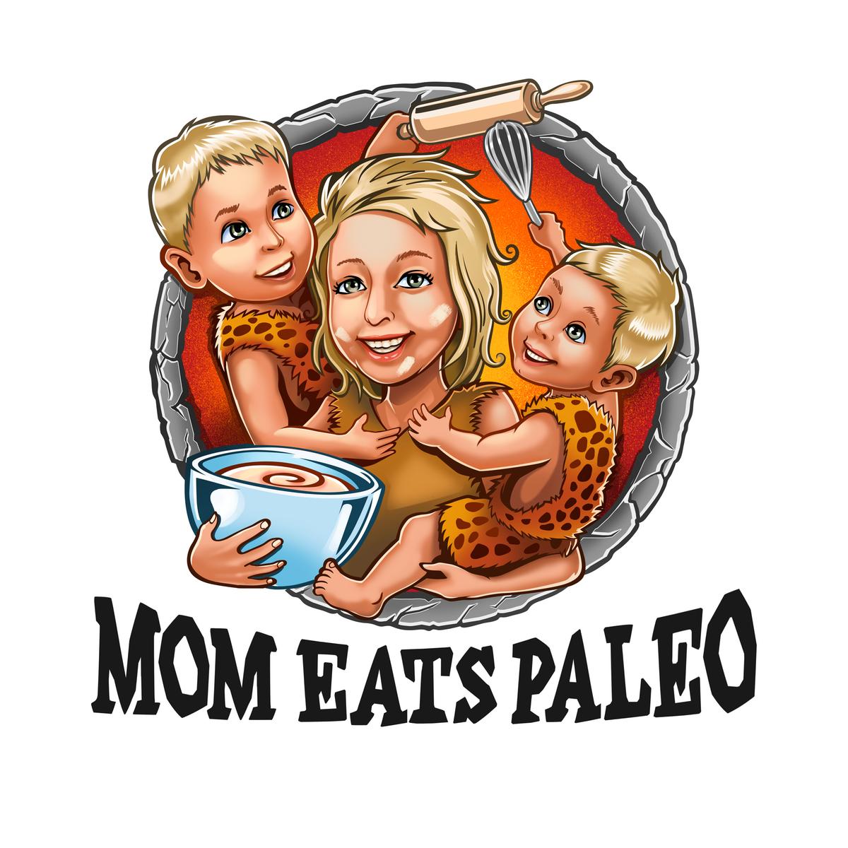 Paleo Mom of Two Logo