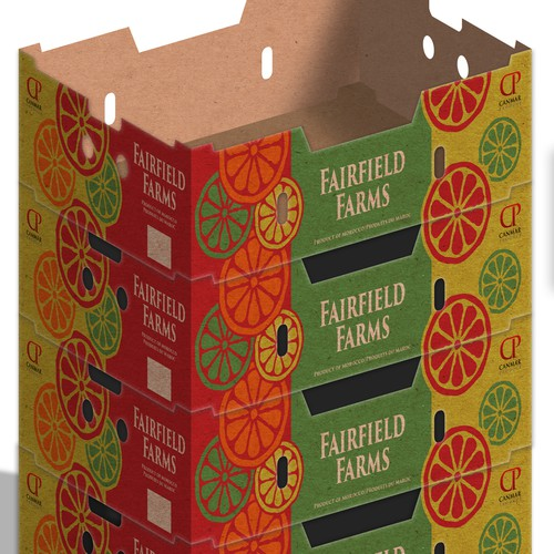 Design of the box for Canmar Produce