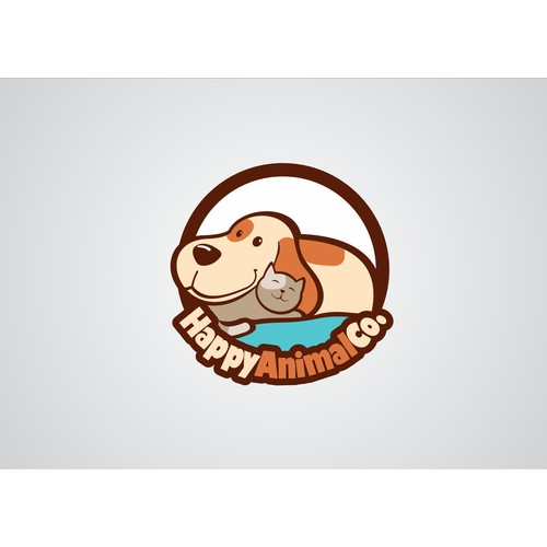 Design a new logo for artisan e-store donating a portion of profits to animal rescues