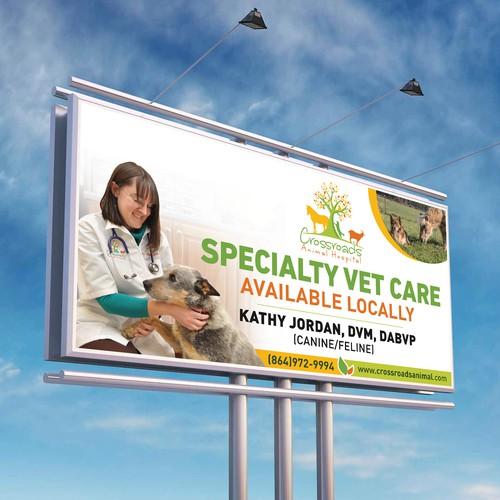 Veterinary Hospital Billboard Design