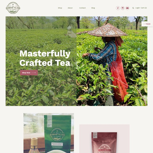 Tea Company Web