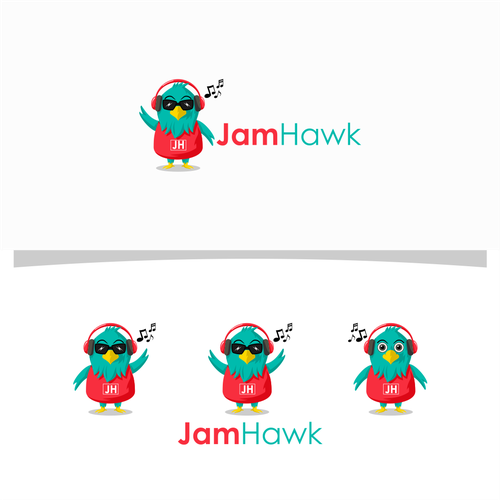 Logo design for JamHawk