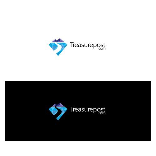 Logo design concept for Treasurepost.com