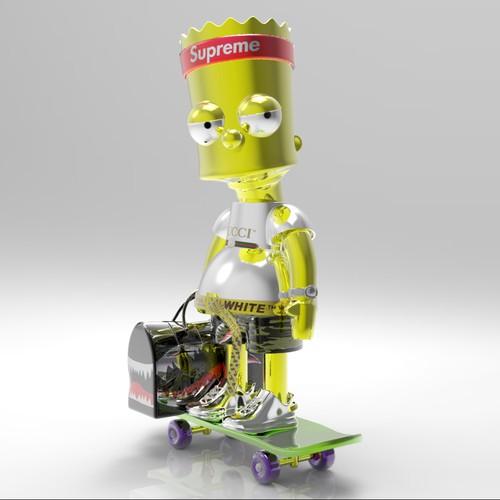 Bart sculture