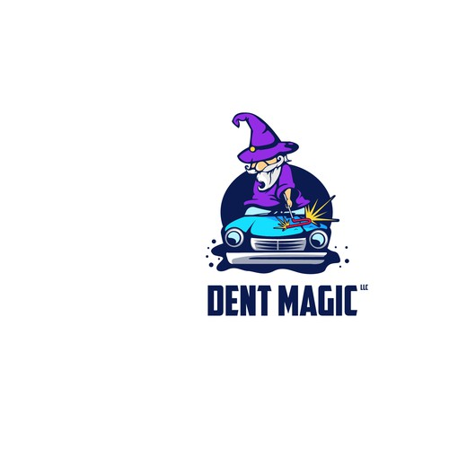 Logo for Dent Magic
