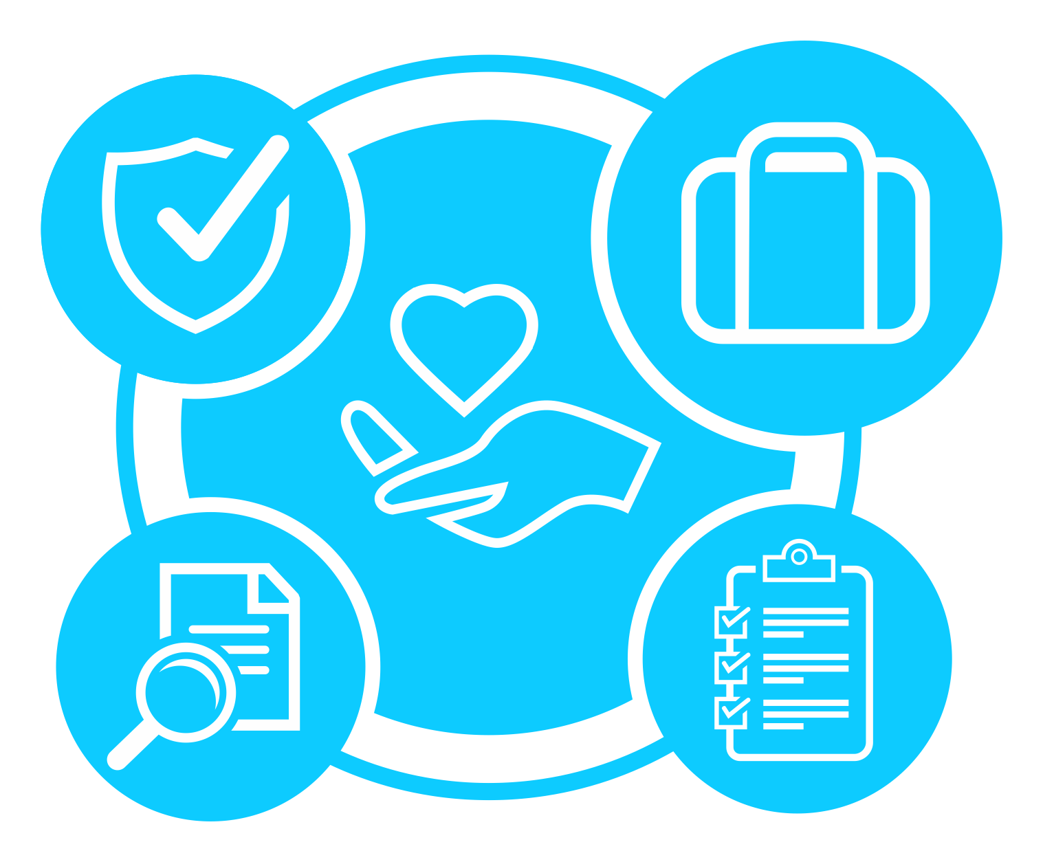 Symbol design of our Care Services