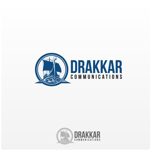 A new logo for Drakkar Communications