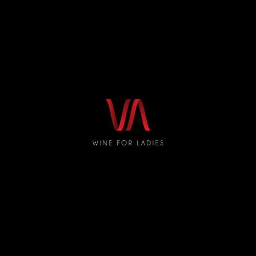Logo for women wine