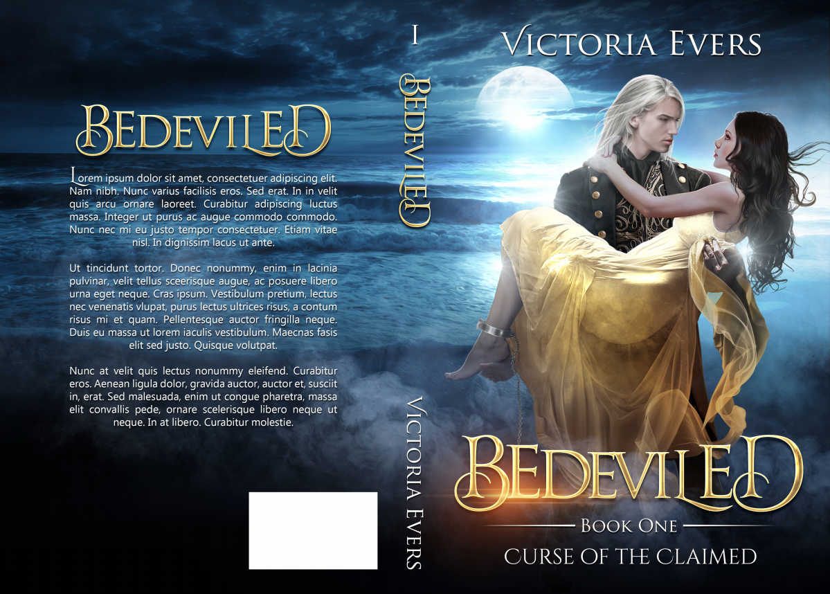 Book Cover for paranormal romance series