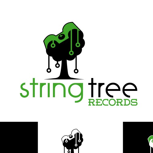Create an awesome creative logo for an independent record label
