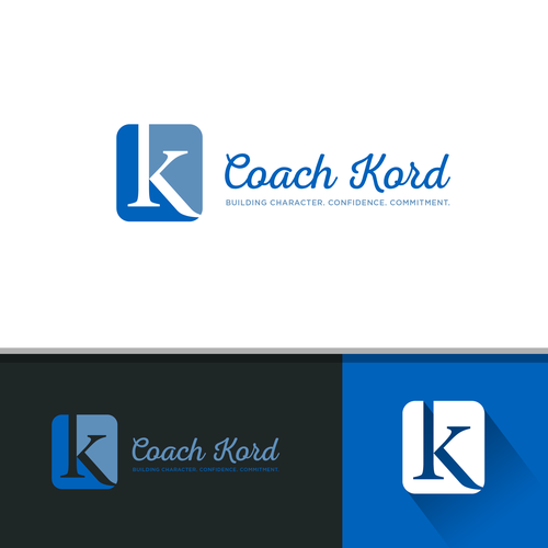 logo for a coach who loves improving peoples lives