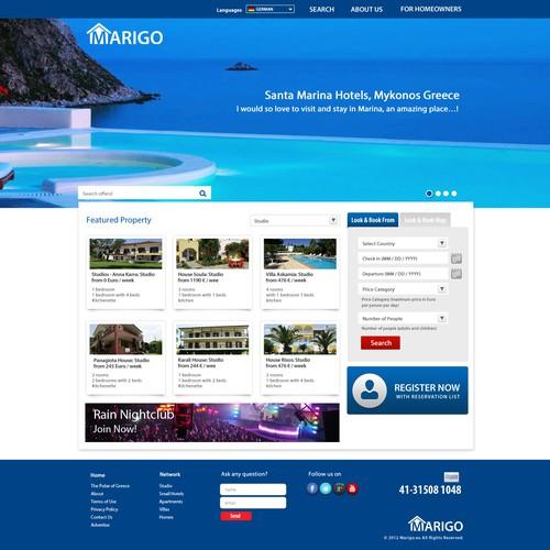 New Webdesign for MARIGO.EU