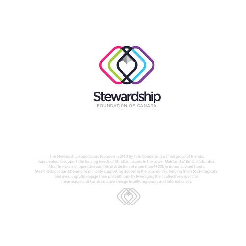 logo design for stewardship non-profit organization