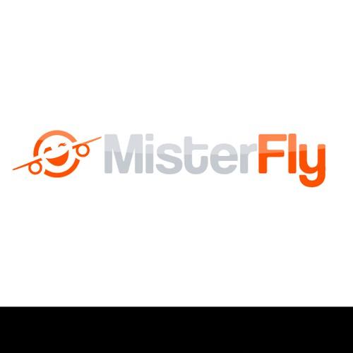 Playful travel website logo